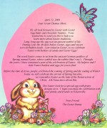 Personalized Easter Letter - Christian Version